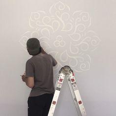 "Check out my @Behance project: ""Mandala Mural for Rumah Putih"" https://www.behance.net/gallery/60097599/Mandala-Mural-for-Rumah-Putih"