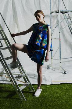 Lookbook // Clothes Laura Gröndahl & Kristiina Yrjänäinen SS16 - Sofia Okkonen