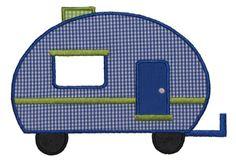 Camper Applique Design Nolan needs this!