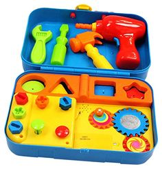 Kidoozie Cool Toys Tool Set - Includes Audio Responses to... https://smile.amazon.com/dp/B00009KWSR/ref=cm_sw_r_pi_dp_x_Jh5iybABS8H15