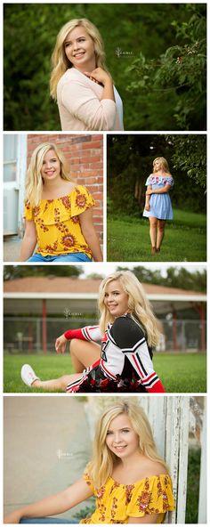 Samantha Thomas | Class of 2018 | Senior Girl Portrait Poses | Cheerleader Senior Portraits | Outdoor Senior Portraits | Gretna Senior Photographer | Omaha Senior Photographer | Laura C. Photography 2017