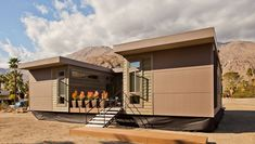 """Starting at $179,000, the C6 is a three-bedroom, two-bath, 1,232-square-foot home outfitted with comfort and sustainability in mind. According to Glenn, hitting that magic number was the biggest challenge of designing this home, but, """"a combination of sma"""