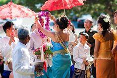 KHMER WEDDING-GREETING OF THE GROOM