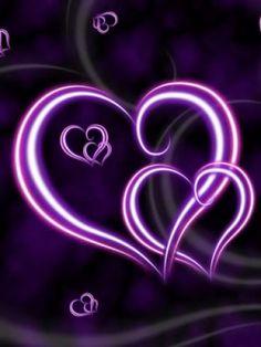 Purple STUFF | Purple Hearts Wallpaper | Purple Hearts Desktop Background