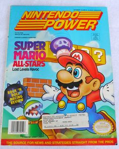Nintendo Power #nintendo #mario #magazines
