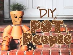 How to make flower pot people - Lay of the Land - Garden Centre - Settle, North Yorkshire