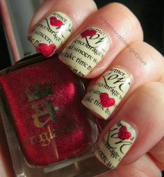 Top 14 Cute Spring & Valentine Nail Designs – New Famous Fashion Manicure Trend - Way To Be Happy (4)
