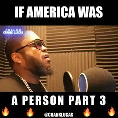 IF AMERICA WAS A PERSON PT 3  Repost from  @cranklucas  #cranklucas #america #rap #hiphop #dmvrap #dmvrapper #md #mdrap  #hiphop #comedian #beats #instrumental #ifamericawasaperson #trump #davidkelly #churchshooting #texaschurch #texaschurchshooting #terrorism