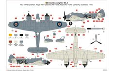 Airfix A05043 Bristol Beaufighter Mk.X (Late) 1:72