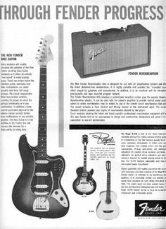 Old Fender Ad. Saved from offsetguitars