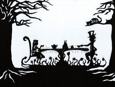 Papercut Art! #Alice In Wonderland #Papercut Art