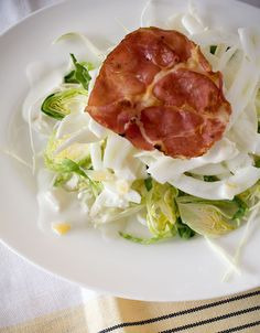 A Stack of Dishes - Cabbage abd Fennel Salad