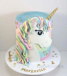 A single cake – inspiration torten – Cake Unicorne Cake, Cupcake Cakes, Beautiful Cakes, Amazing Cakes, Unicorn Birthday Parties, Birthday Cake, 5th Birthday, Pony Cake, Girl Cakes