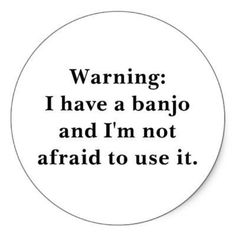 Here's a new decal for Ban-Joey's banjo case