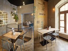 Modrý Zub Restaurant by minio, Prague – Czech Republic » Retail Design Blog