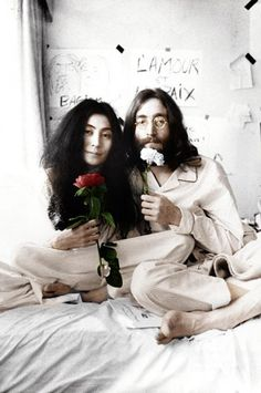 Bed Peace John Lennon