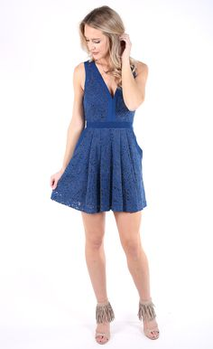 Free People Lovely In Love Mini Lace Dress