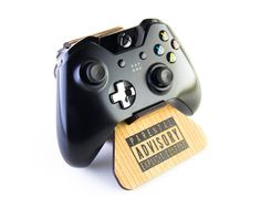 Parental Advisory Explicit Content Display Stand for Xbox One