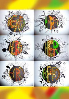 Op deze blog vind je werken van de leerlingen van het Sint Andreas Lyceum St.-Kruis Brugge. Alle werkjes werden gemaakt tijdens de lessen plastische opvoeding. Halloween Art Projects, Christmas Art Projects, Christmas Arts And Crafts, Middle School Art, School Fun, Art School, Folder Design, Back Art, String Art