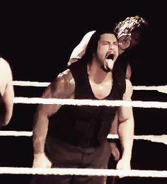 "Even Kane is looking like, ""Dude put that away. You're gonna hurt somebody! Roman Reigns Shirtless, Wwe Roman Reigns, Beautiful Joe, Gorgeous Men, Roman Reighns, Balayage Long Hair, Wrestlemania 29, Wwe Funny, Wwe Superstar Roman Reigns"