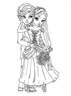 Bride 'n Groom by JadeDragonne