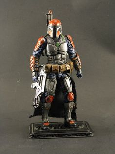 Mandalorian (Star Wars) Custom Action Figure