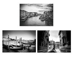 Venice Print Set Set of 3 prints 8x10 prints venice photos italy 11x14 venice photography 3 photos travel wall decor 16x20 red blue