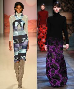 This fall the turtleneck is is being seen in several lines on the runway, such as theory, top shop, and many others. This fall the turtleneck collar is a trend that is being seen with a more layered look, which works well with the colder months ahead. Alison. D