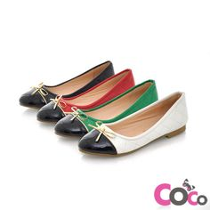 Cute Black Flats | White Comfortable Cute Flats Shoes NEW