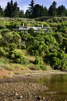 Apple Bay House, Marlborough Sounds, by Parsonson Architects