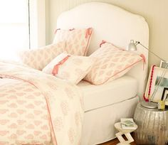 THE prettiest pink bedding for a little girl-- ever.