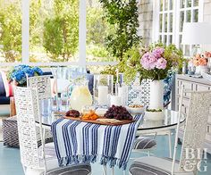 Whether you're looking to entertain, dine, or just relax, these porch design ideas are guaranteed to inspire your space. Get ready to enjoy the outdoors in style in screened-in porches, backyard porches, and more.
