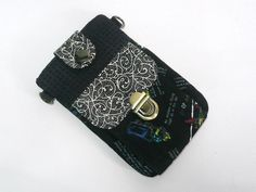 Black is beautiful . Pouch, Wallet, Black Is Beautiful, Smartphone, Sachets, Porch, Purses, Belly Pouch, Diy Wallet
