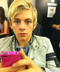 Ross Lynch....don't know why; maybe because he won a stuff frog on Austin and Ally :)