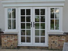French Doors - UPVC French Doors - Radcliffe Glass & Windows