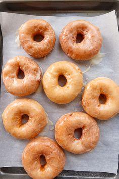Sourdough Doughnut Recipe, Sourdough Starter Discard Recipe, Sourdough Pancakes, Bread Starter, Sourdough Recipes, Sourdough Bread, Recipes With Yeast, Donut Recipes, Whole Food Recipes