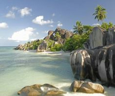 Seychelles, one of the 10 best beaches on the planet. http://www.aluxurytravelblog.com/2013/10/21/10-of-the-best-beaches-on-the-planet/