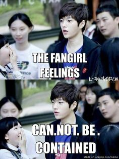 Lol that girl's face says it all XD