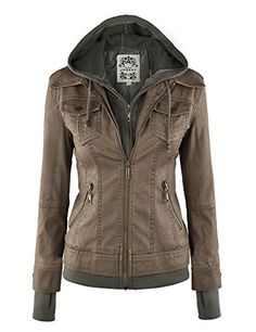 MBJ Womens 2-For-One Hooded Faux leather Jacket XS GRAY Made By Johnny http://www.amazon.com/dp/B00LNIQVRO/ref=cm_sw_r_pi_dp_.udtvb0KKRRFB