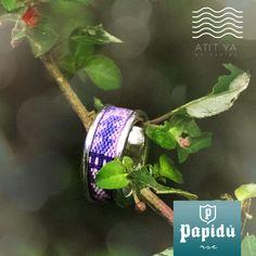 Recobremos juntos la belleza de una de nuestras joyas naturales, adquiriendo uno de los doce anillos #ATITYA  disponibles únicamente en #JoyeriaPapidu.