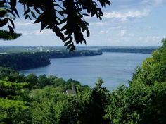 Queenston Heights view of Niagara River