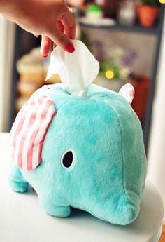 cute san x sentimental circus elephant tissue box