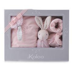 Kaloo Perle : Coffret naissance 3 pièces rose - Kaloo-962179 prix 31.99euro