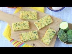 Broccoli & Cheese Frittata Fingers - My Fussy Eater