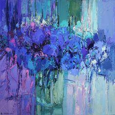 Abstract Geometric Art, Abstract Flowers, Oil Painting App, Collage Art Mixed Media, Floral Artwork, Pastel Art, Art Plastique, Landscape Art, Lovers Art