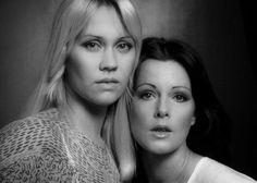The Vikings ! Agnetha and Anni-Frid.