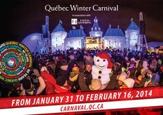 Schedule for the 60th edition of the Québec City Winter Carnival: new activities throughout the Québec area! - NewsCanada-PLUS News, Technol...