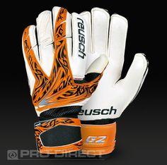 Reusch Keon Pro G2 LTD Goalkeeper Gloves - Orange/Black/Ltd