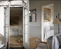 A calm and creative space from Denmark - have a lovely weekend! Danish Interior, Lakeside Living, Have A Lovely Weekend, Cottage Interiors, Cottage Living, Living Room, Color Stories, Creative Home, Scandinavian Style