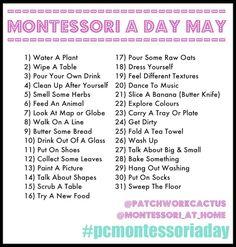 Montessori a day